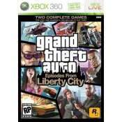 Gra Xbox 360 Grand Theft Auto: Episodes From Liberty city
