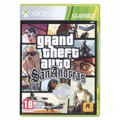 Gra Xbox 360 Grand Theft Auto San Andreas EN