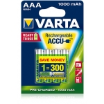 Akumulator VARTA Ready2Use AAA Micro Ni-Mh 1000mAh HR03 (4 szt)