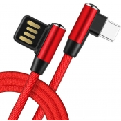 Kabel USB/Lighting kątowoy LIBOX LB0151 kątowy