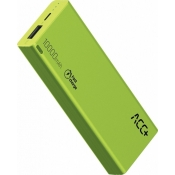 Powerbank ACC+ Thin 10000 mAh Fast charge Zielony