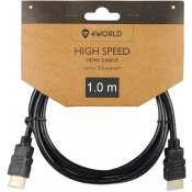 Kabel HDMI-HDMI 4WORLD 08603 1m