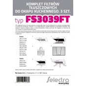 Filtr aluminiowy SELECTRA FS3039FT